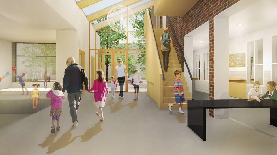 Pacelli school nieuwbouw aula 2018